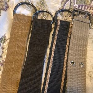 Other - Bundle of Fabric Belts